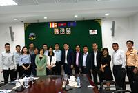 中國—東盟中心組織媒體代表團赴柬埔寨考察採風 (2019-09-15)