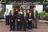 陳德海秘書長率中國記者團訪問文萊(10月20-23日)