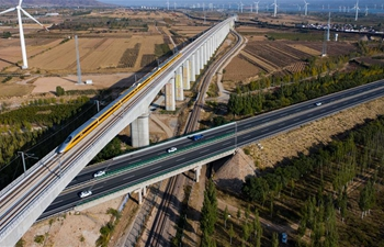 Construction of each station along Beijing-Zhangjiakou high-speed railway to be completed